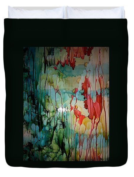 Layers Of Life Duvet Cover