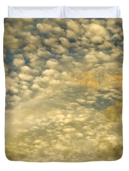 Layers Of Sky Duvet Cover