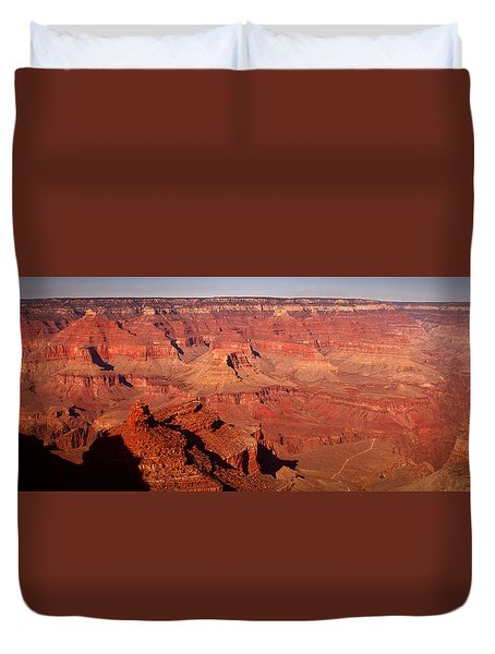 Layers Of Time Duvet Cover