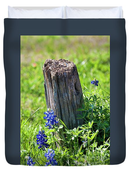 Duvet Cover featuring the photograph Lazin' In The Sun by Joan Bertucci