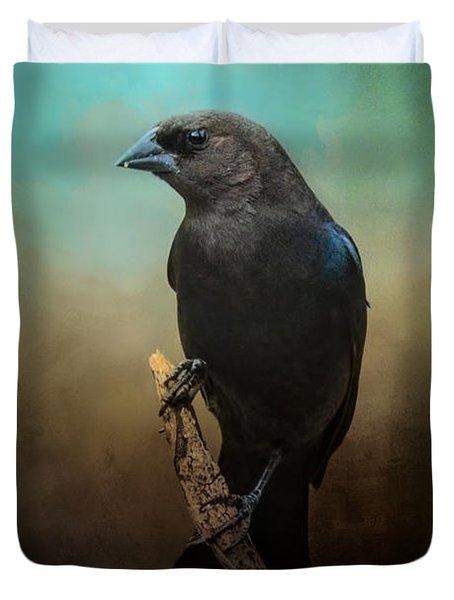 Lazy Bird Duvet Cover