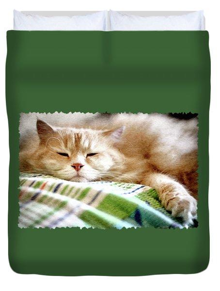 Lazy Day Duvet Cover