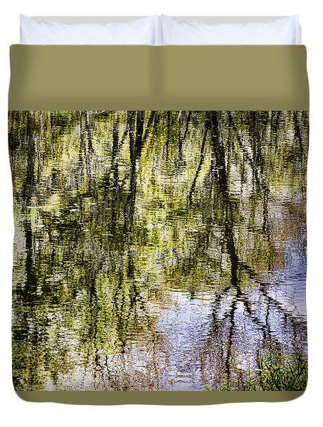 Duvet Cover featuring the photograph Lazy Day by John Hansen