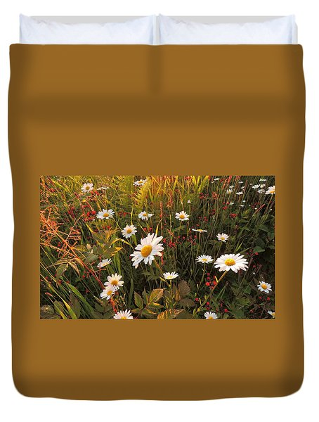 Lazy Days Daisies Duvet Cover