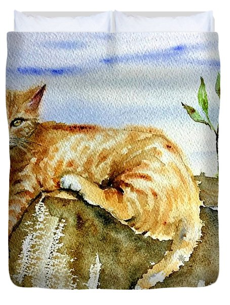 Lazy Evening Duvet Cover