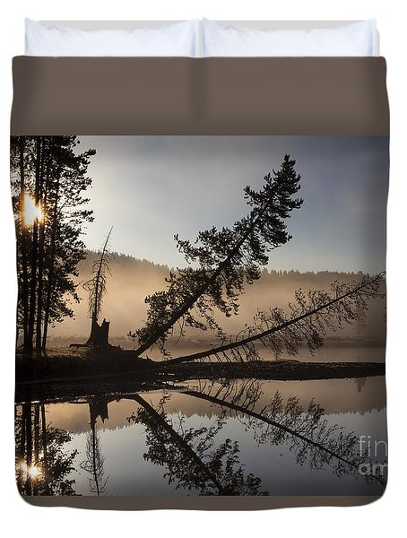 Lazy River Duvet Cover