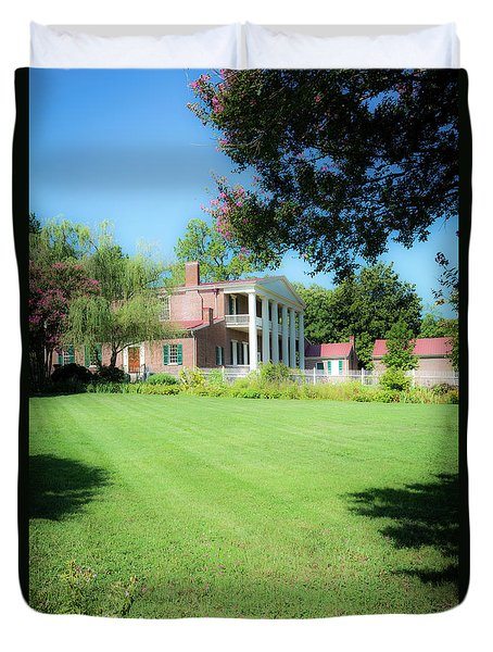 Duvet Cover featuring the photograph Lazy Summer Day - The Hermitage by James L Bartlett