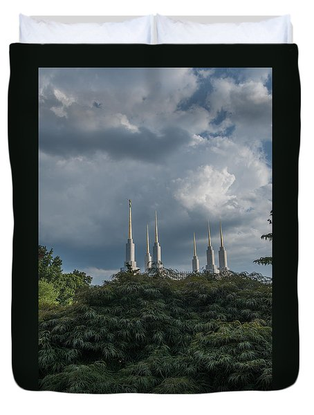 Lds Storm Clouds Duvet Cover