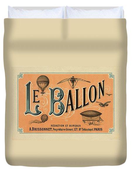 Le Balloon Duvet Cover