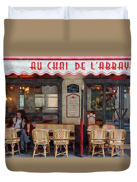 Le Chai Paris  Duvet Cover by Matthew Bamberg