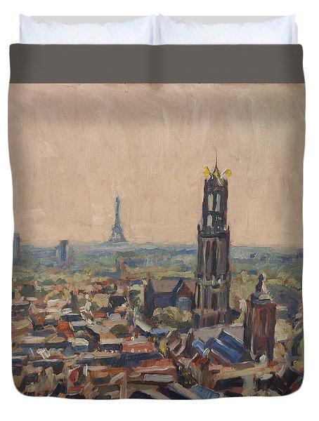 Le Grand Depart A Utrecht Duvet Cover by Nop Briex