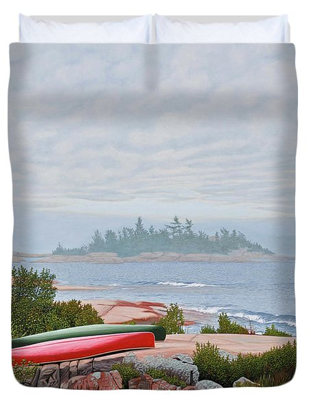 Le Hayes Island Duvet Cover