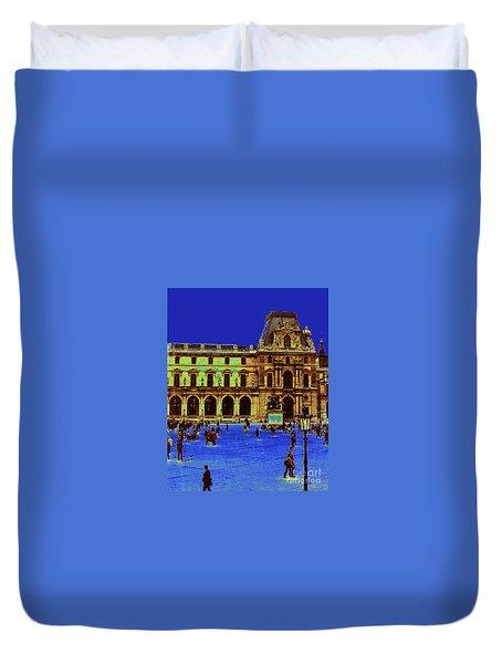 Le Louvre Duvet Cover
