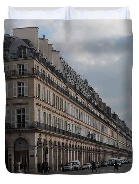 Le Meurice Hotel, Paris Duvet Cover