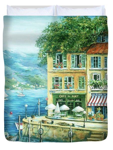Le Port Duvet Cover