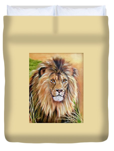 Le Roi-the King, Tribute To Cecil The Lion   Duvet Cover
