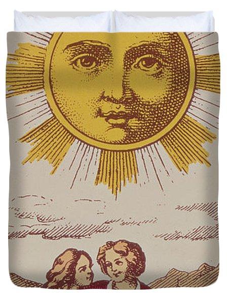 Le Soleil Duvet Cover