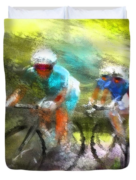 Le Tour De France 11 Duvet Cover