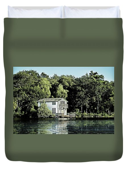 Leacock Boathouse Duvet Cover
