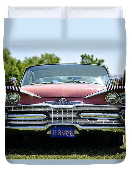 Leading Lady Duvet Cover by Pamela Patch