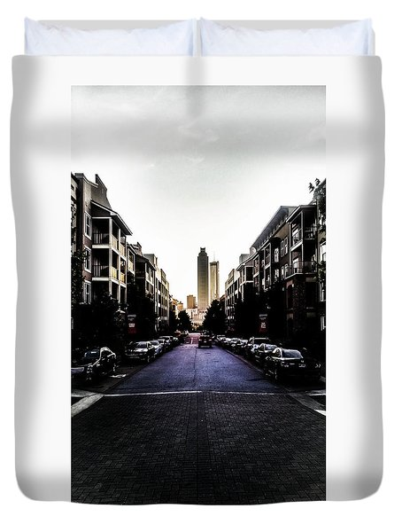 Leading Lines Duvet Cover