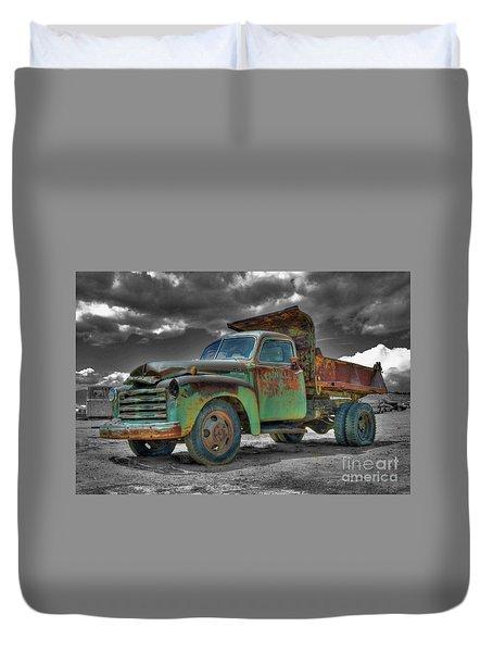 Leadville Coal Company Duvet Cover