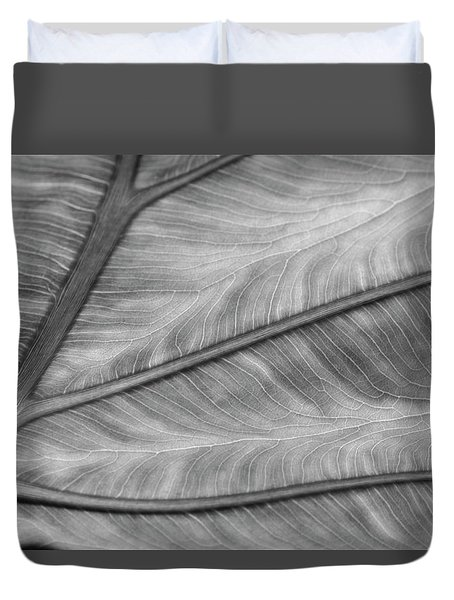Leaf Abstraction Duvet Cover