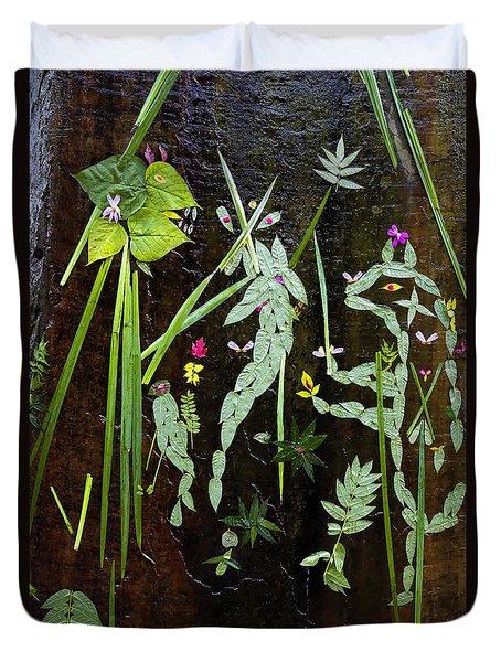 Leaf Art Duvet Cover