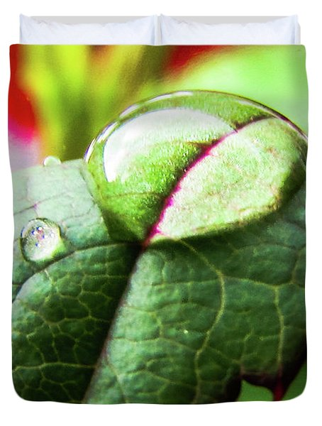 Leaf Duvet Cover by Cesar Vieira
