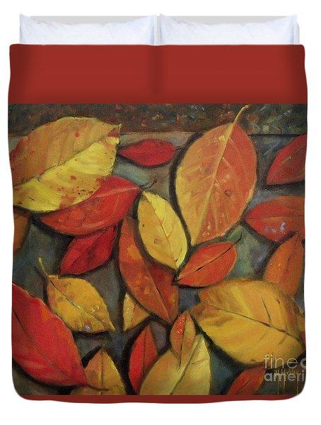 Leaf Collection Duvet Cover