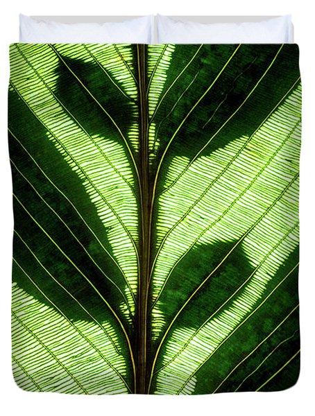 Leaf Detail Duvet Cover