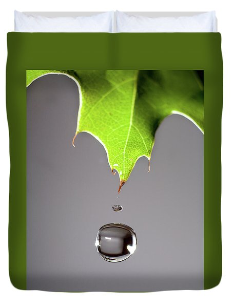 Leaf Drip Duvet Cover