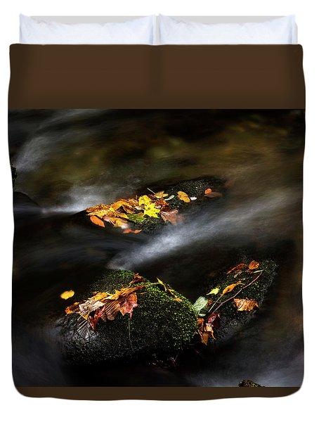 Leaf Island Duvet Cover