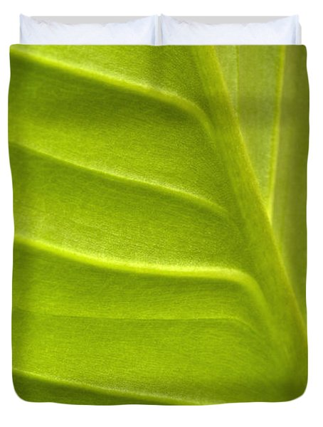 Leaf Pattern Duvet Cover by George Robinson