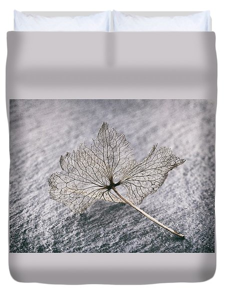 Leaf Skeleton Duvet Cover