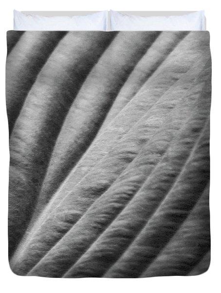 Leaf - Softness Duvet Cover by Ben and Raisa Gertsberg