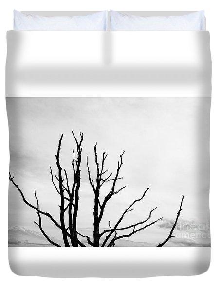 Leafless Tree Duvet Cover