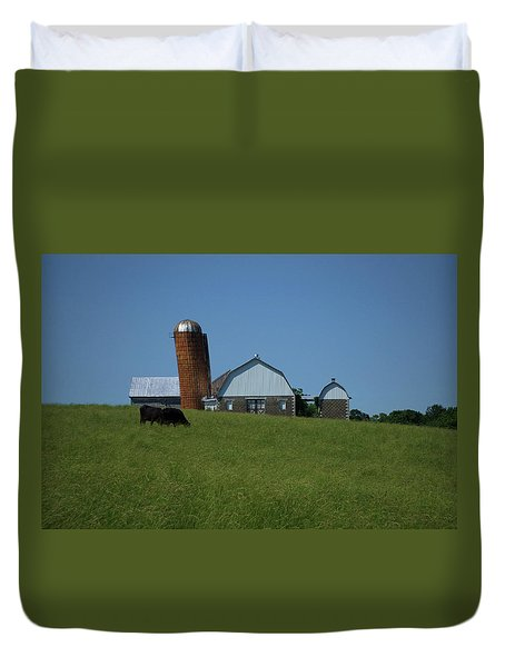 Duvet Cover featuring the photograph Lean Beef by Robert Geary