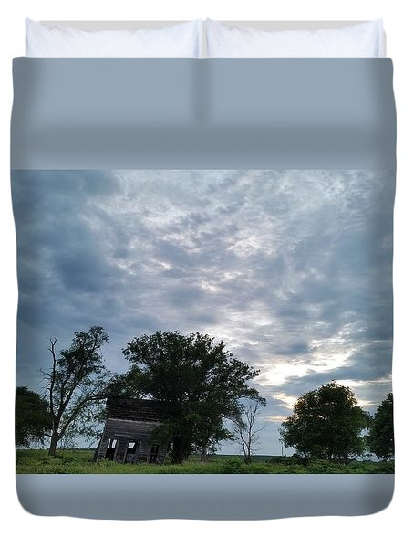 Lean Into It Duvet Cover by Caryl J Bohn