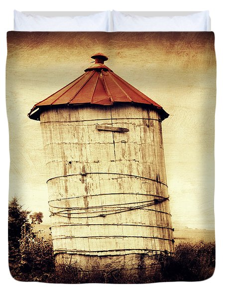 Leaning Tower Duvet Cover by Julie Hamilton