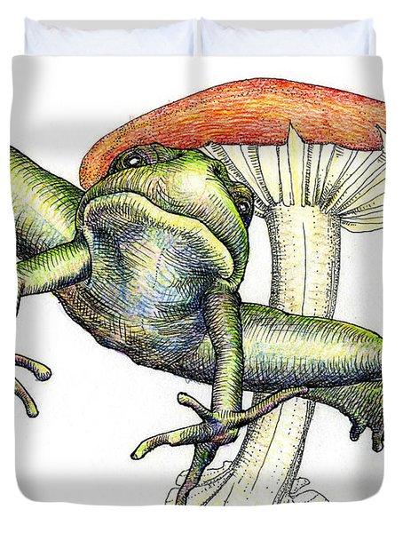 Leap Frog Duvet Cover