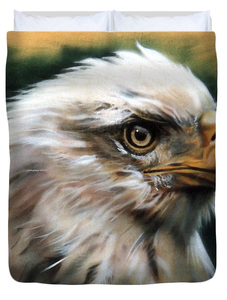 Leather Eagle Duvet Cover
