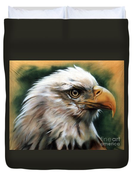 Leather Eagle Duvet Cover