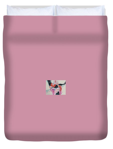 L'eau Qui Coule Duvet Cover