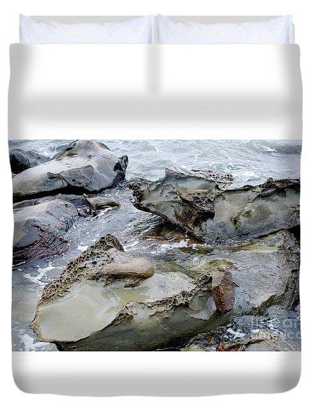Leave No Stone Unturned Duvet Cover