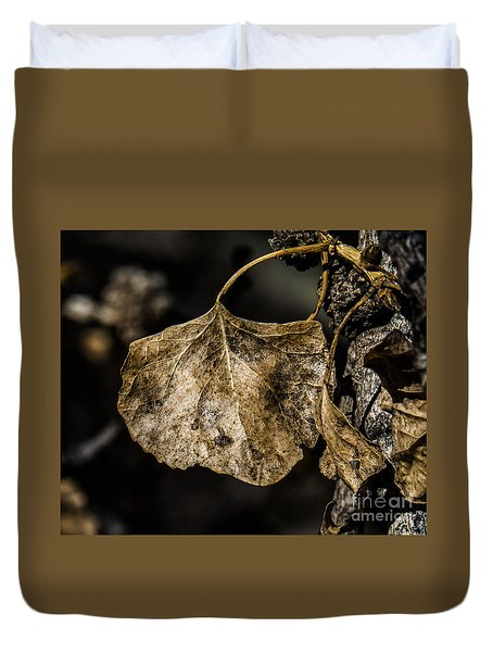 Leaves 4 Duvet Cover