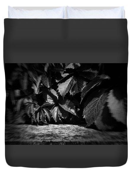Leaves #9671 Duvet Cover