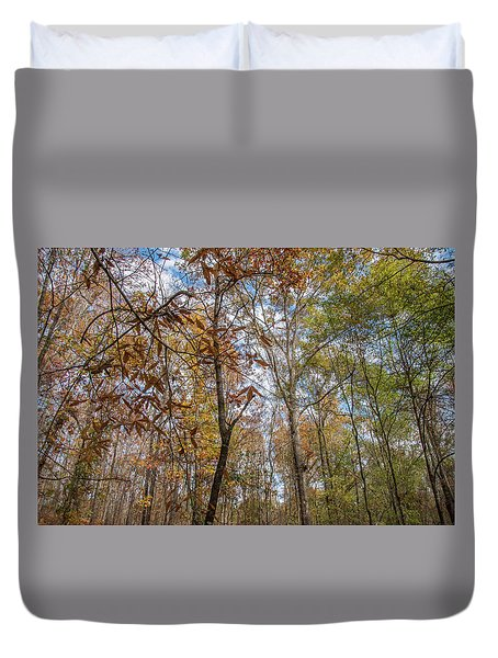 Leaves Changing Duvet Cover