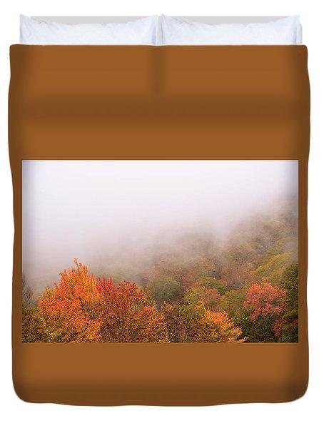 Leaves Duvet Cover