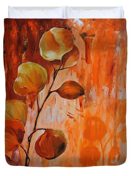 Leaves1 Duvet Cover